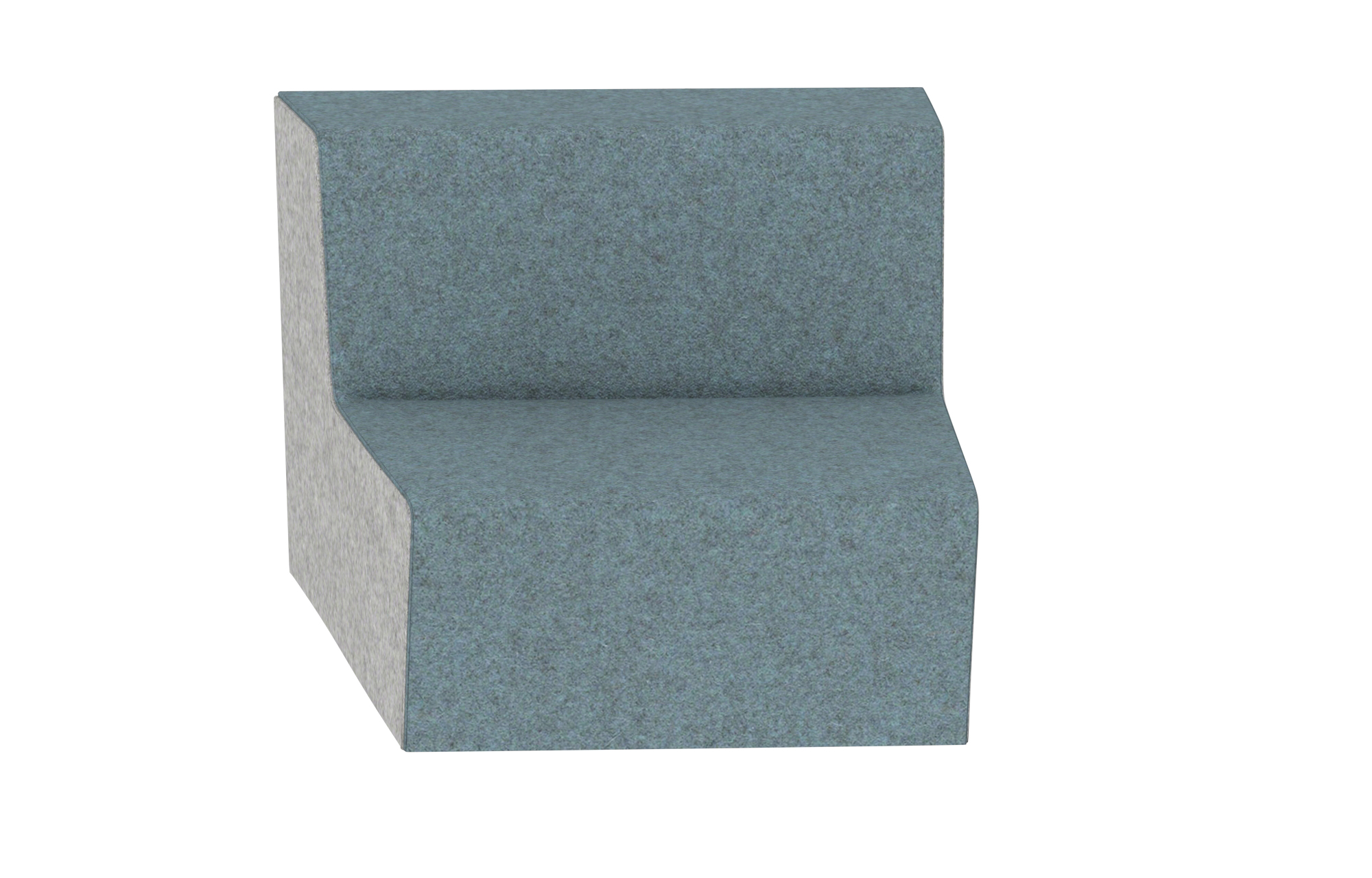 Hickory Contract UPpJr. Modular Lounge 2140-2S-R