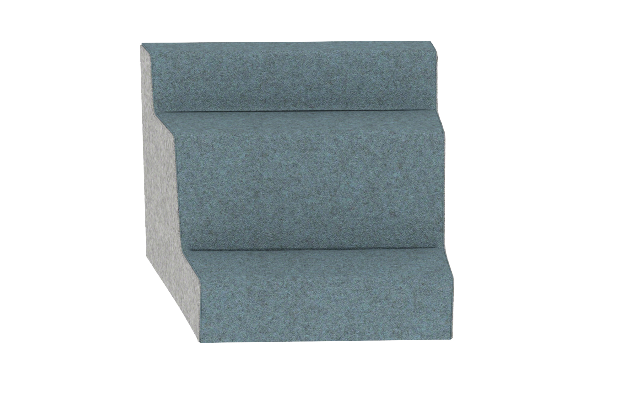 Hickory Contract UPpJr. Modular Lounge 2140-3S-R